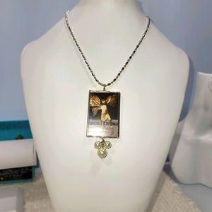 Boho Silver Ball Chain Necklace